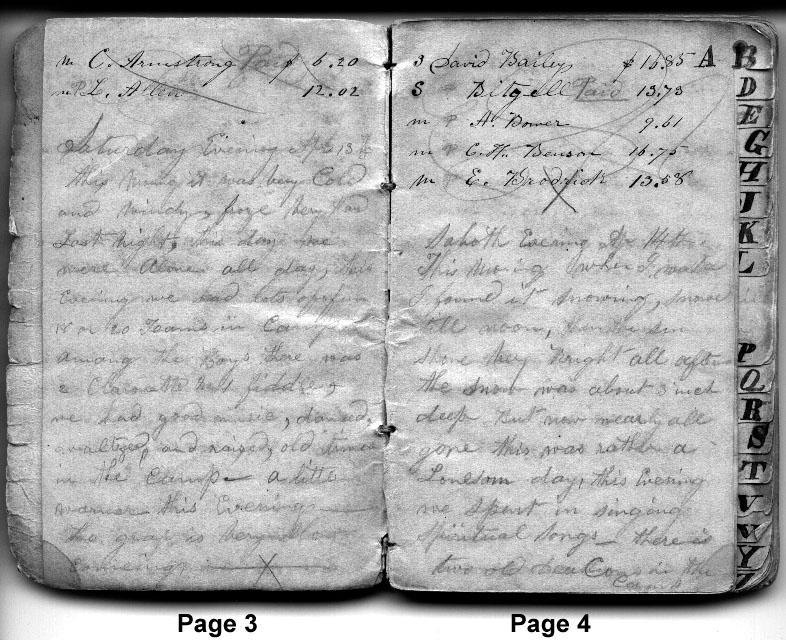 Diary Entries April 13, 1850 - April 14, 1850
