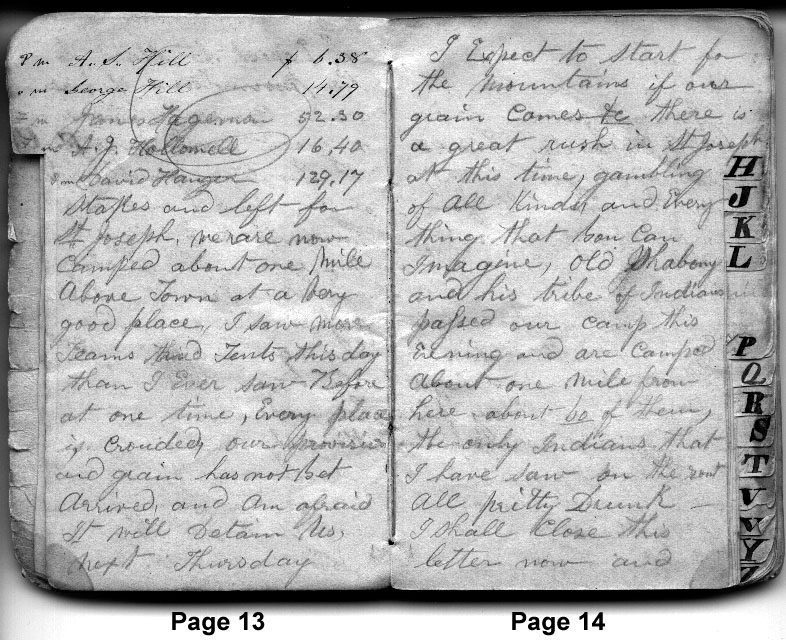 Diary Entry April 19, 1850