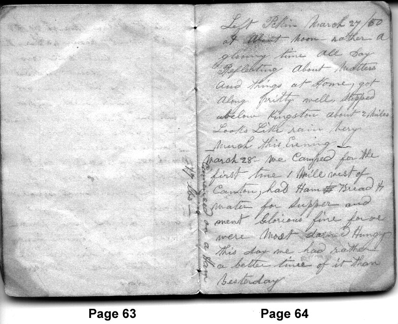 John App's March 28, 1850 Gold Rush Diary Entry | Stories
