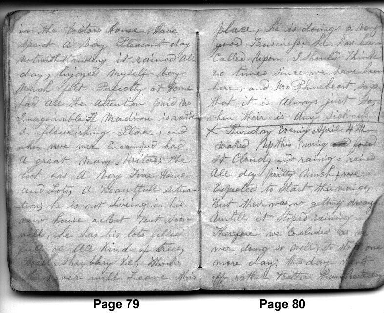 Diary Entries 4/3/1850 - 4/4/1850