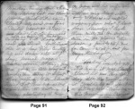 Diary Entries 4/8/1850 - 4/9/1850
