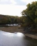 Spoon River west of Burnedott, Illinois