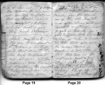 Diary entries 5/11/1850 - 5/12/1850