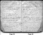 Diary entries 6/1/1850 - 6/23/1850