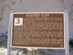 Register Cliffs sign