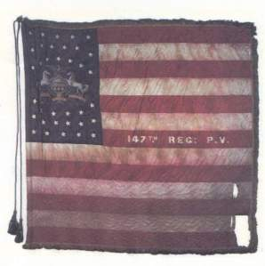Regimental Flag of the 147th Regiment, Pennsylvania Volunteer Infantry