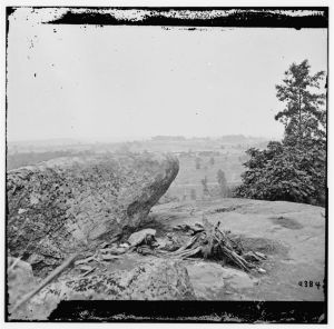 Federal Position Viewed from Little Round Top