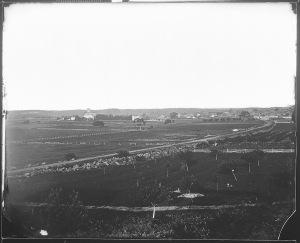 1863 View of Gettysburg