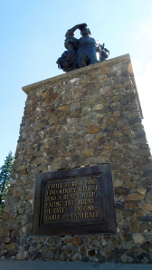 Pioneer Memorial at Donner Summit
