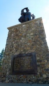 Pioneer Memorial at Donner Summit