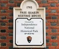 Quakers are pacifists, but during the Revolution various Quakers were inspired to assist in the conflict. After being expelled from the main community of Quakers, the group of approximately 200 called themselves Free Quakers and founded a meeting house of their own in 1783.